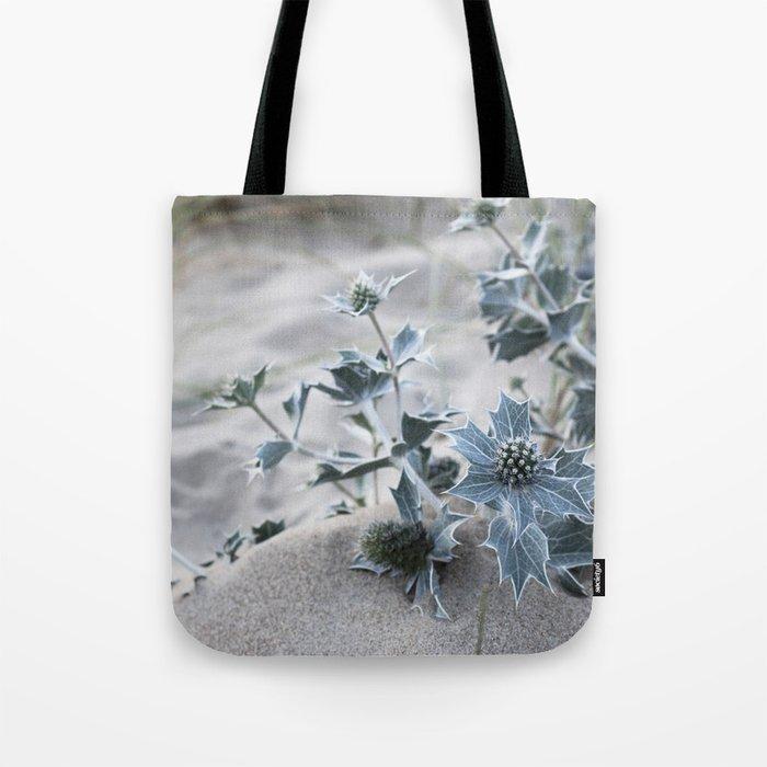 beach thistle Tote Bag