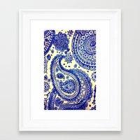 paisley Framed Art Prints featuring Paisley :) by Jordan Virden