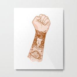 tnds tattoo Metal Print