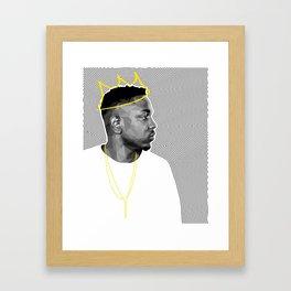 King Kendrick Framed Art Print