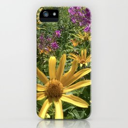 Wild As The Flowers iPhone Case
