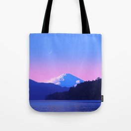 Mount Fuji Sunrise Tote Bag