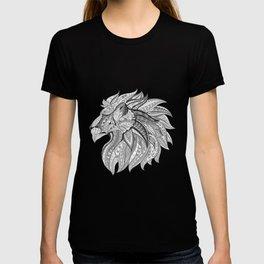 Ethnic Tribal Lion Doodle 02 T-shirt