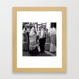 May I have this dance? Framed Art Print