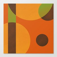 circles Canvas Prints featuring Circles by Farnell