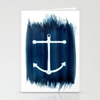 anchor Stationery Cards featuring Anchor by Bridget Davidson