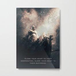 God of War Metal Print
