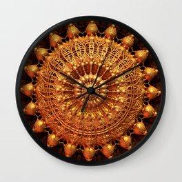 Sun Spur - Raw 3D Fractal Wall Clock