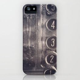 register iPhone Case