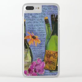 WOODINVILLE WINERIES Clear iPhone Case