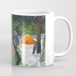 Winter Bike Camp Coffee Mug