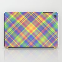 plaid iPad Cases featuring Plaid by Lyle Hatch