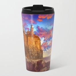lighthouse landscape Travel Mug