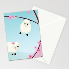 Happy Sheep Stationery Cards