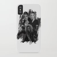jessica lange iPhone & iPod Cases featuring The Witches - Susan Sarandon, Jessica Lange and Meryl Streep by BeeJL