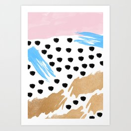 Paint Brushes Art Print
