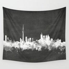 Toronto Canada Skyline Wall Tapestry