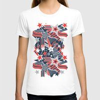 patriotic T-shirts featuring Patriotic Pattern by Aron Gelineau