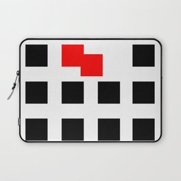 No Touching (Square) Laptop Sleeve