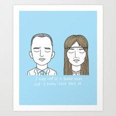 F & J Art Print