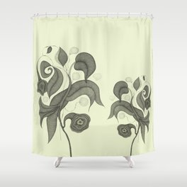 Botanica 4 Shower Curtain