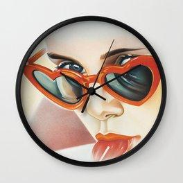 Lolita - Sunglasses Wall Clock