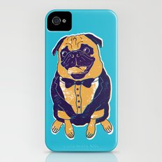 Henry the Pug Slim Case iPhone (4, 4s)