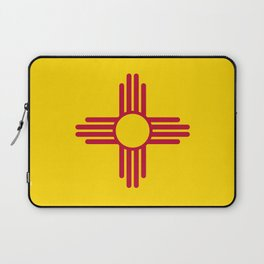 Flag of New Mexico - Authentic High Quality Image Laptop Sleeve