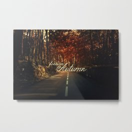 Forever Autumn Metal Print