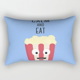 Eat Popocorn Rectangular Pillow