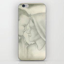 Child Jesus and Mary iPhone Skin