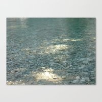 clear Canvas Prints featuring Clear by Françoise Reina