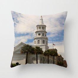 St. Michaels Episcopal Church Throw Pillow