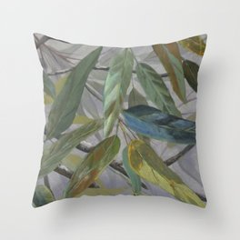 Corymbia Gum 1 Throw Pillow