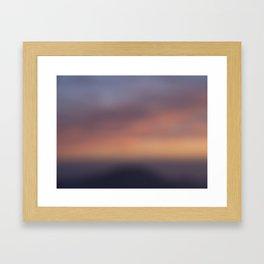 Colors of Sunset Framed Art Print