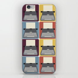 Typewriter v9056 iPhone Skin