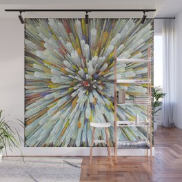 Abstract color rays Wall Mural