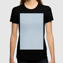 Powdery Blue Solid Color Block T-shirt