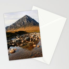 Buchaille Etive Mor Mountan Glencoe Scotland Stationery Cards