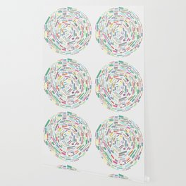 Round and Round Wallpaper