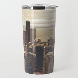 Chicago City Buildings Color Photo Architecture Travel Mug