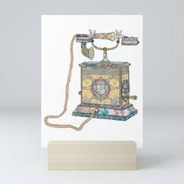 waiting for your call since 1896 Mini Art Print
