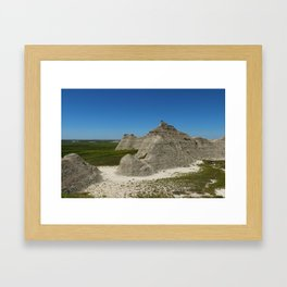 The Beauty Of A Rough Country Framed Art Print