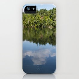 Morning on Lincoln Pond iPhone Case