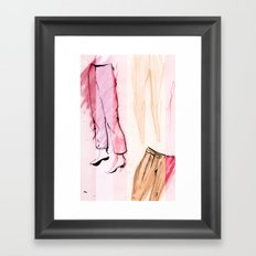 This Season: Pants! Framed Art Print
