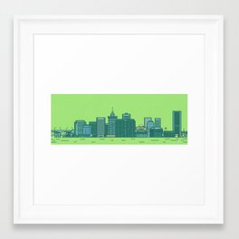 Richmond Panoramic Framed Art Print