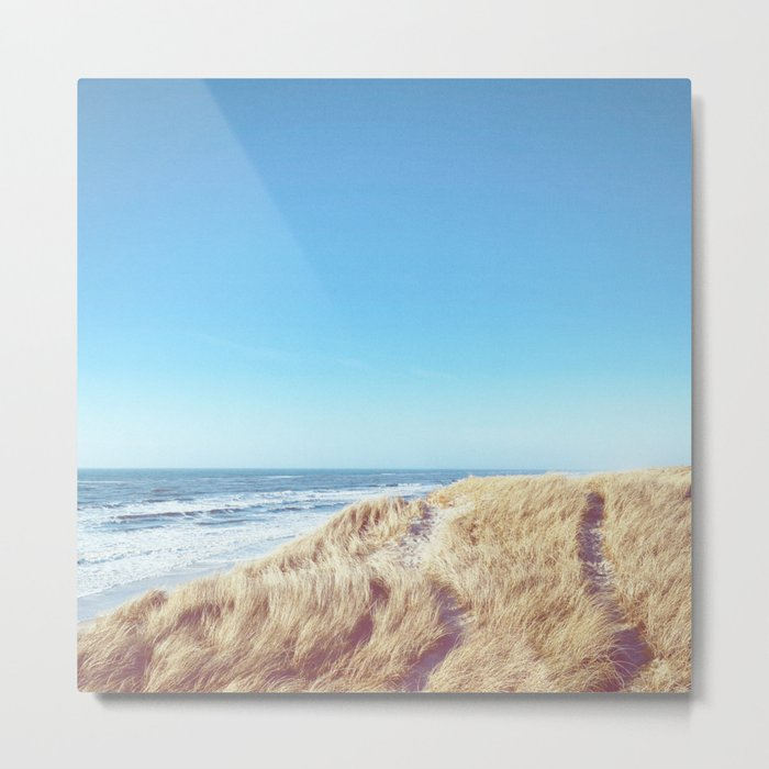 WIDE AND FREE Metal Print