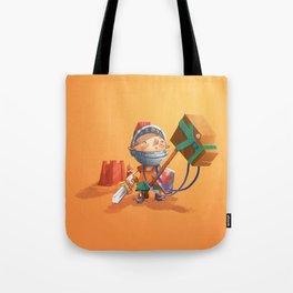 Knight Boy Tote Bag