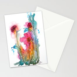 shooting pains Stationery Cards