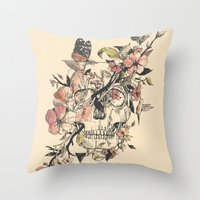 la Throw Pillows featuring La Dolce Vita by Norman Duenas